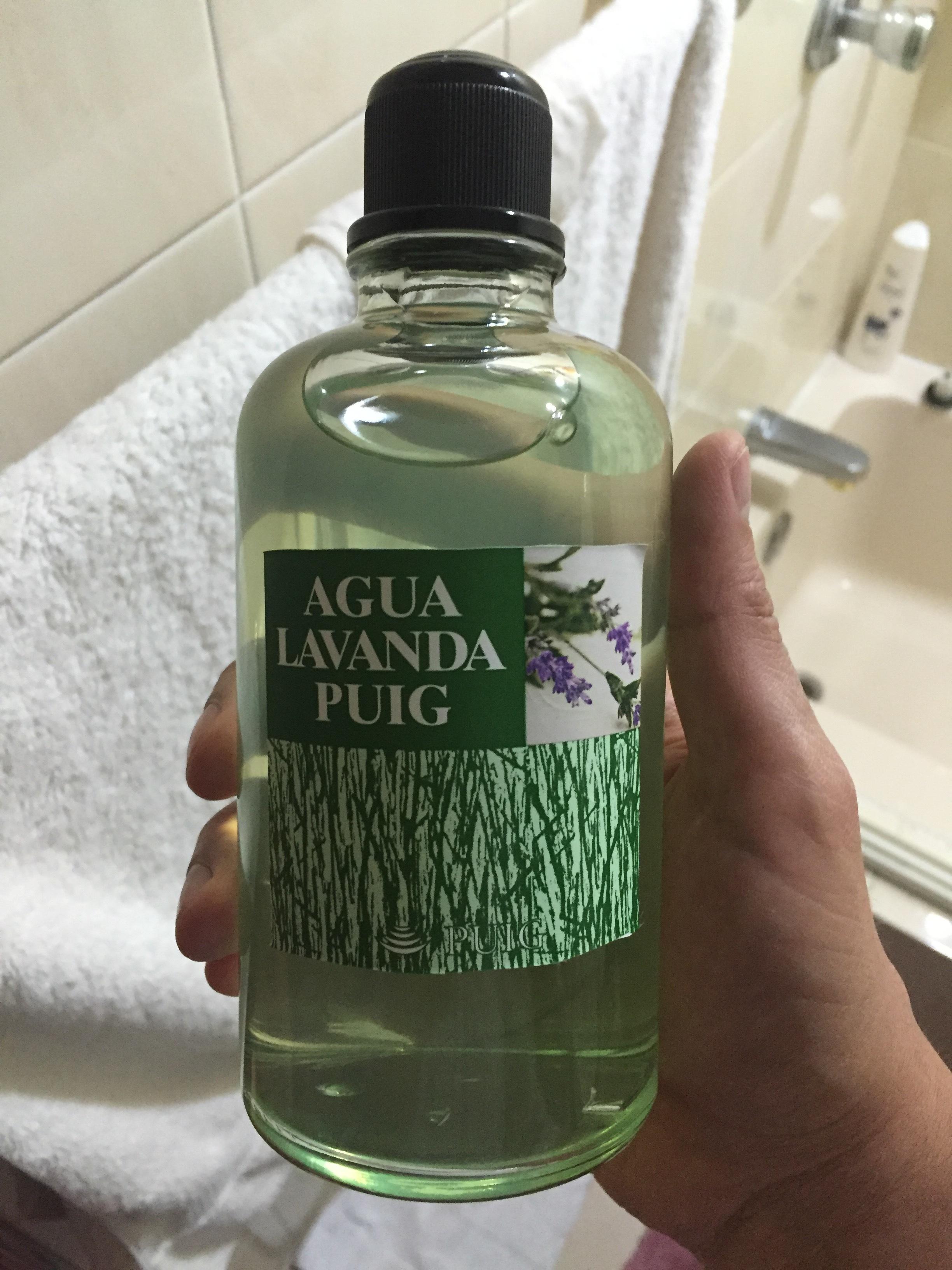 After Shave Casero Agua Lavanda Puig Lociones Bálsamos Y Pre Afeitados Sin Corte No Hay Gloria Afeitado Clásico Y Cuidado Del Caballero